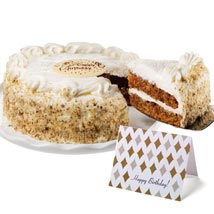 Carrot Cake: Send Cakes to San Jose