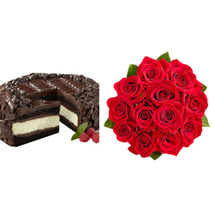 Chocolate Cheesecake and Roses: Send Cakes to Los Angeles