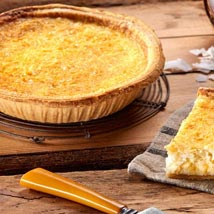 Coconut Custard Pie: Send Gifts to Philadelphia