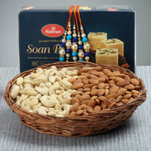 Crazy Rakhi Hamper: Send Rakhi to Virginia Beach