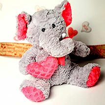 Cute Elephant Soft Toy: Send Valentine Day Gifts to Boston