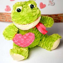 Cute Froggy Soft Toy: Send Valentine Day Gifts to Boston
