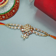 Embellished Rakhi: Send Rakhi to Detroit