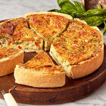 Florentine Quiche: Send Cakes to San Jose