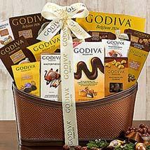 Godiva Wishes: Anniversary Cakes to USA