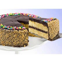 Golden Fudge Celebration Cake: Send Gifts to Philadelphia