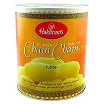 Haldirams Cham Cham: Sweets to Houston