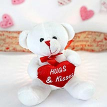 Hugs N Kisses Teddy Bear: Send Valentine Day Gifts to Boston