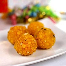 Jaybharat Boondi Laddoo: Send Sweets to Houston