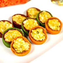 Jaybharat Dryfruit Cassata Roll: Send Sweets to Allentown