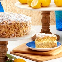 Limoncello Cake: New Year Gifts to USA