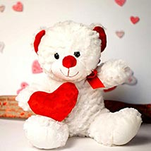 My Heart is 4 U Teddy Bear: Send Valentine Day Gifts to Boston
