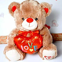 My Love 4 You Teddy Bear: Send Valentine Gifts to Santa Clara