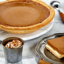 Pumpkin Cheesecake Pie: Send Cakes to Allentown