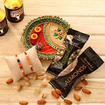Rakhi Gift of health: Rakhi to Charlotte