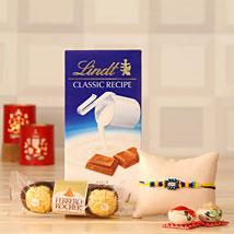 Rakhi Love with Chocolates: Rakhi & Chocolates USA