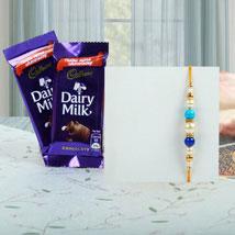 Rakhi with Cadburys: Rakhi & Chocolates USA