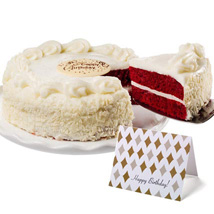 Red Velvet Chocolate Cake: Gifts to Philadelphia