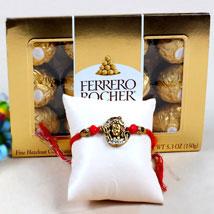 Shiva Rakhi and Ferrero Rochers: Rakhi & Chocolates USA