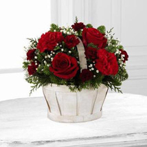 Simply Sweet Bouquet: Send Christmas Flowers to USA