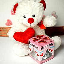 Teddy With Kisses: Send Valentine Day Gifts to Boston