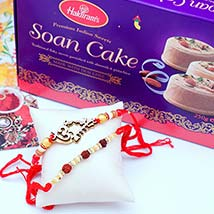 Two Rakhis N Soan Cakes: Rakhi to Detroit